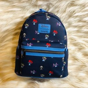 NWT Disney loungefly Stitch mini backpack
